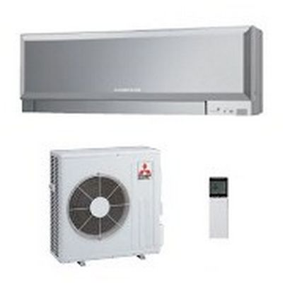 Mitsubishi Electric MSZ-EF50VES/MUZ-EF50VE R410a Design Inverter (silver)